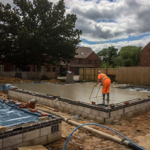 Laying a floor for a property investor