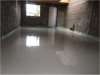 PLV Construction Limited Completed Floor Screed