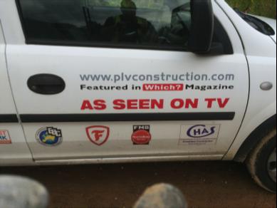 PLV Construction Van