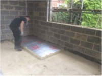 Laying Insulation