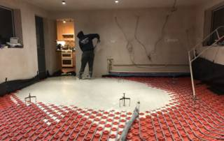 56m over underfloor heating