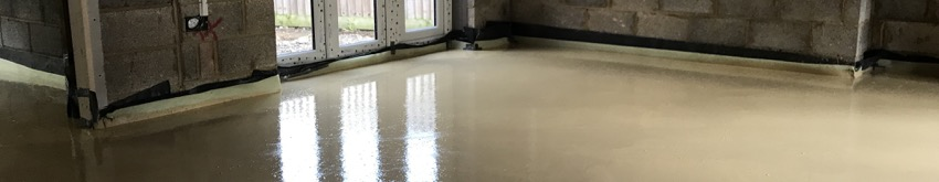 Liquid Screed Thickness