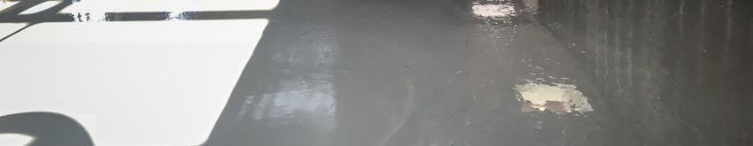 Liquid screed drying times