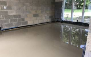 Floor Screed just laid
