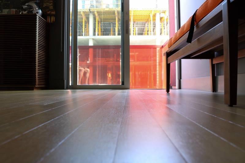 heated floor